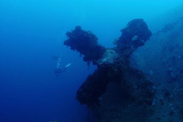 Truk Micronesia Wreck at Rio De Janeiro site