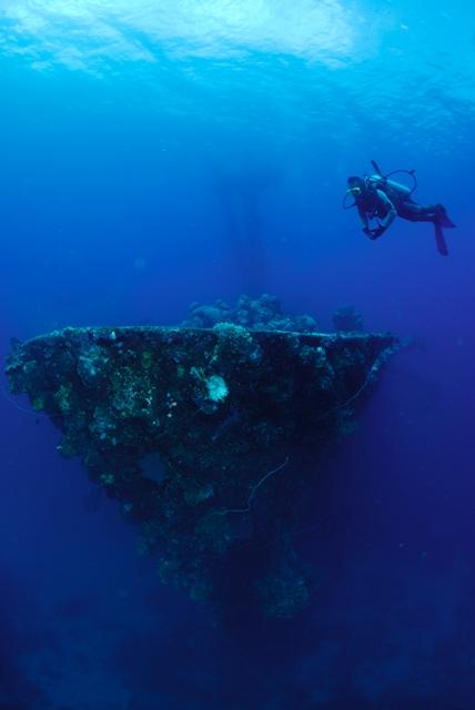 Truk Micronesia Diver