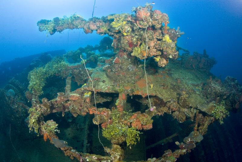 Truk Micronesia Shipwreck