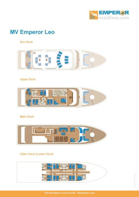 Emperor Leo floorplan Maldives