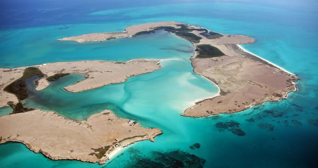 DJI Mousha Islands arial view ST
